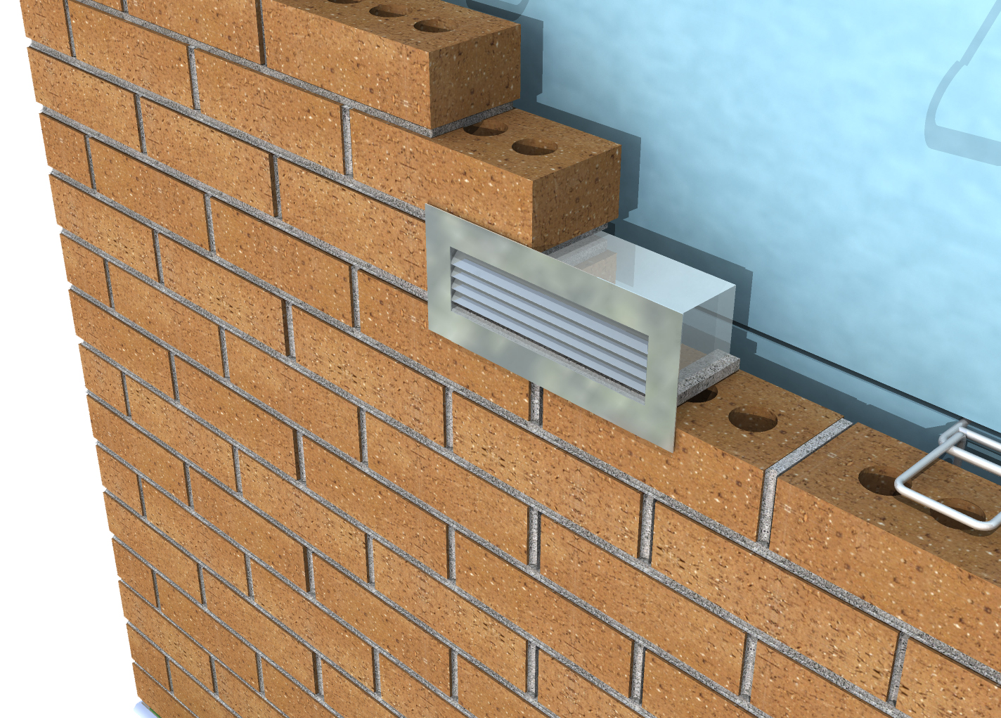 how to build a br i ck vent